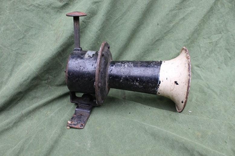 druk claxon push horn AGOOOH 1920's klaxon Stewart ?? hupe