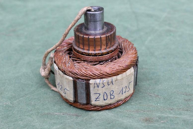 BOSCH dynamoanker / rotor JLO MG125 NSU ZB125  no. 503/1Z  2M ancre