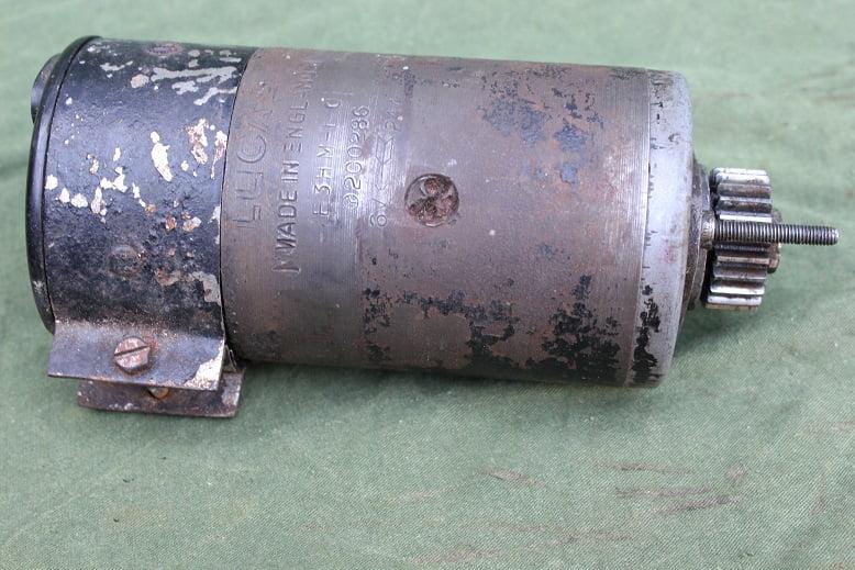 LUCAS  E3HM-10 1944 dynamo lichtmachine generator WD