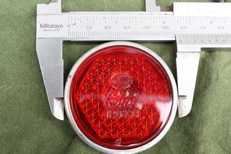 HELLA K2426 IRU 133 achterlicht glas rearlamp glass rucklicht glas NOS HELD reserved