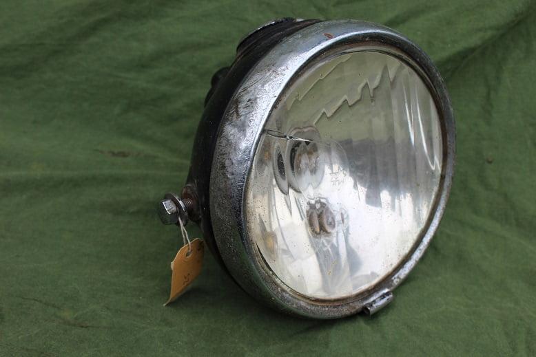 LUCAS DU42 koplamp scheinwerfer headlamp DU 42  CZ 27 ammeter