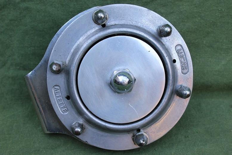 LUCAS ALTETTE HF 1234 1952 6 volts claxon horn hupe klaxon