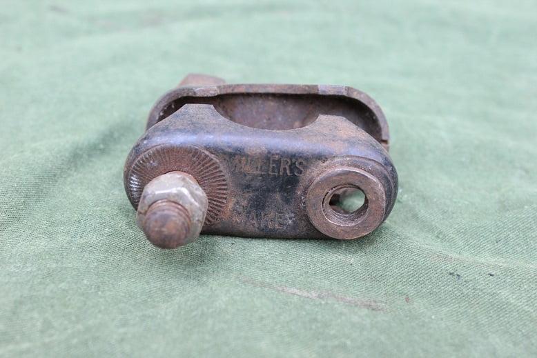 MILLER bracket beugel bugel voor carbid generator ?  for acetylene generator ??