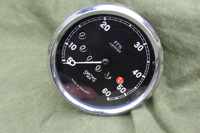 SMITHS FFN 60 miles speedometer tacho mijlenteller