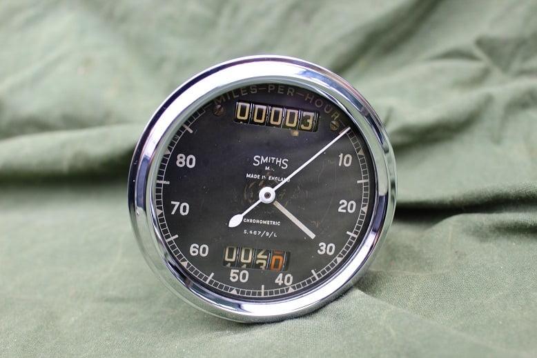 SMITHS S467/9/L 80 miles chronometric speedometer tacho mijlenteller