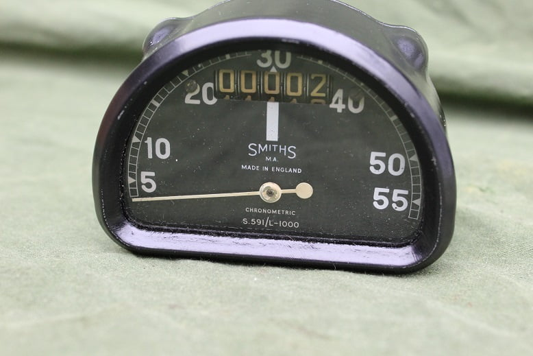 SMITHS S591/L  1000 55 Mph D type chronometric speedometer tacho mijlenteller