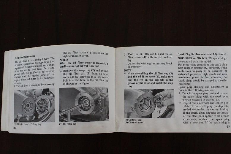 Honda Cb500t 1974 Owner U2019s Manual Cb 500 T Beriebsanleitung