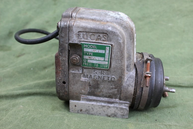LUCAS SR1 type MK IA 1958 ontstekings magneet magneto zundmagnet