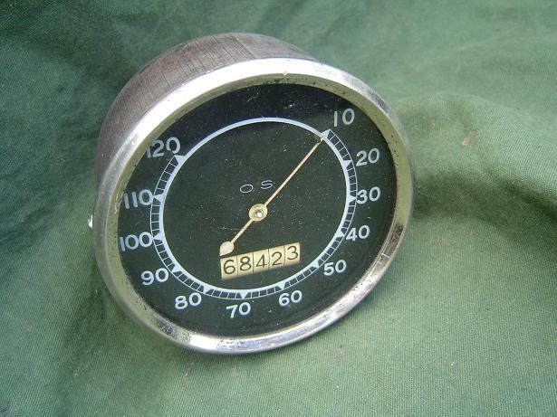 O.S. 120 Mph ? speedometer tacho mijlenteller