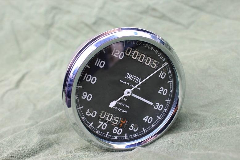 SMITHS S467/203N  120 Mls chronometric speedometer tacho mijlenteller