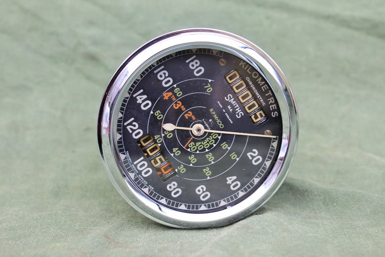SMITHS S467/47/L 180 Km chronometric speedometer kilometer teller tacho Triumph 6T