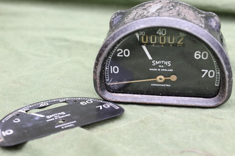 SMITHS D type 70 Mph chronometric speedometer S630 L mijlenteller tacho