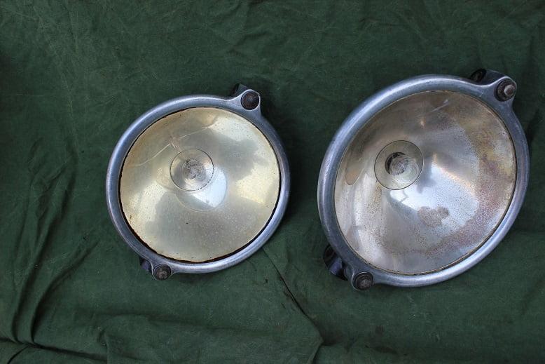 ROBERT BOSCH A.G. Stuttgart J200 lampen set 1920 's scheinwerfers headlamps Mercedes ??