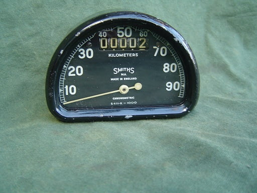 SMITHS S411-K 1000 D type 90 KM chronometric kilometer teller speedo tacho