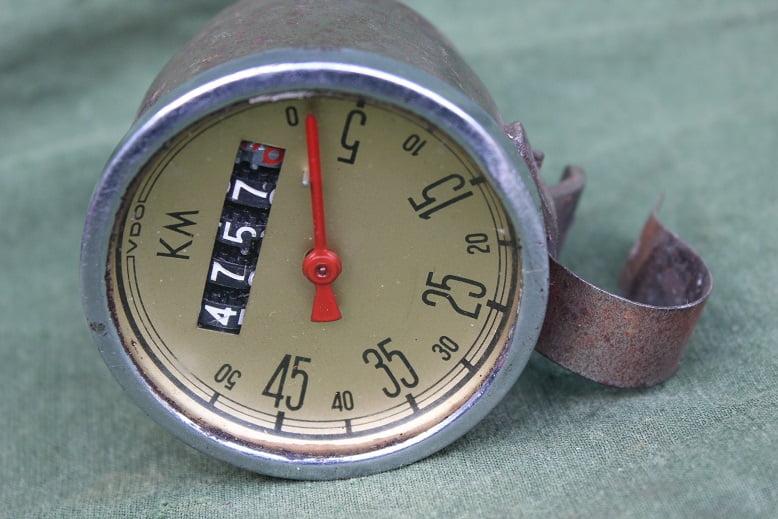 VDO 1950 50 KM hulpmotor kilometer teller speedometer tacho hilfsmotor
