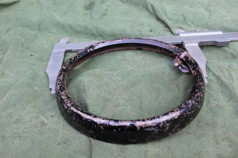 MILLER ??  LUCAS ??  1930's / 1940's headlamp rim koplamp rand scheinwefer rand