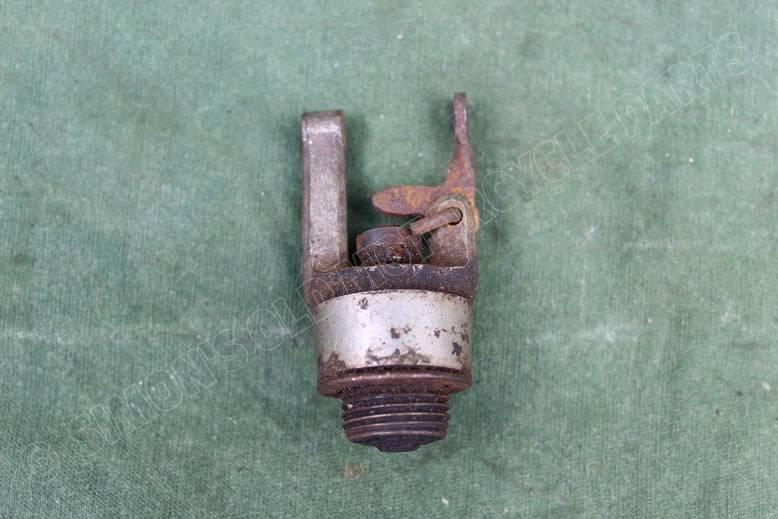 1920's / 1930's motorfiets decompressie klep motorcycle decompression valve
