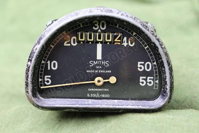 SMITHS S531/L  1600 55 Mph D type chronometric speedometer mijlenteller tacho
