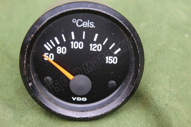VDO 150 graden Celcius temperatuur meter 150 degrees temperature gauge 1972
