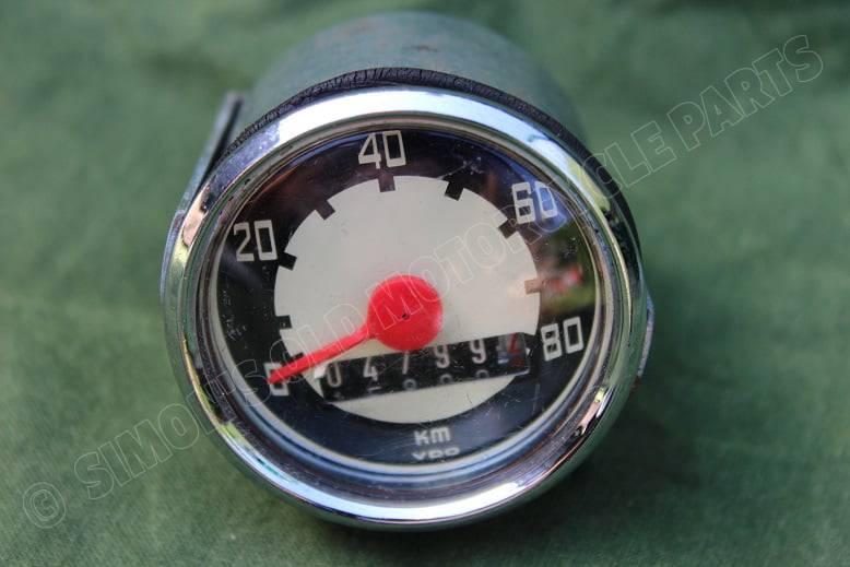 VDO 80 KM kilometer teller 1969 Kreidler ? Puch ? speedometer tacho