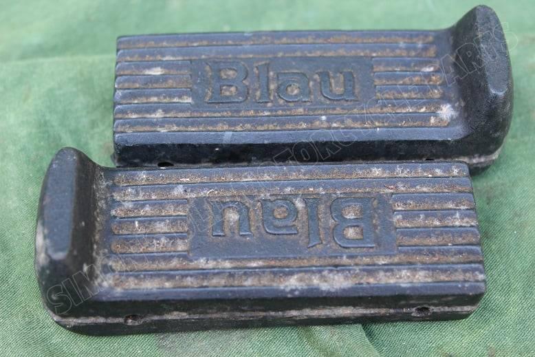 BLAU passagier voetsteun rubbers passenger seat footrests rubbers