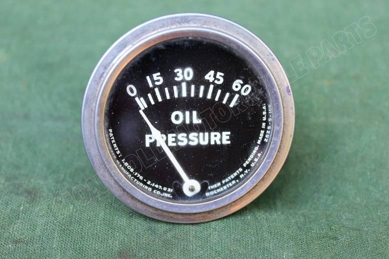 ROCHESTER  USA olie drukmeter oilpressure gauge oell druckmesser