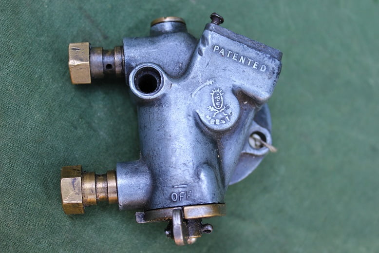 BEST & LOYD 1928 motorfiets olie pomp sight feed oilpump