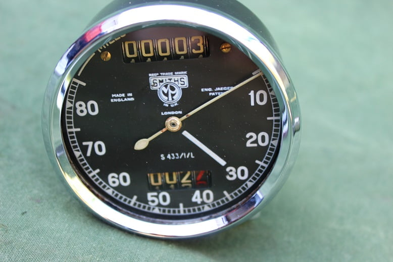 SMITHS S433/1/L 80 miles mijlenteller chronometric speedometer tacho HELD reserved