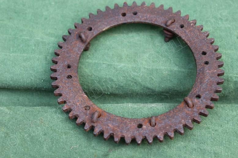 kilometer teller aandrijfwiel 1920 / 1930 speedometer drive wheel tacho antrieb welle