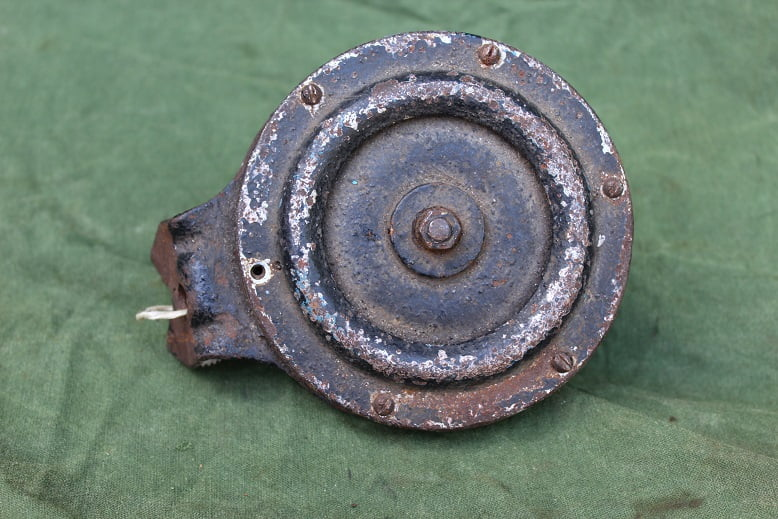 claxon KLAXON London 1930's 6 volts horn hupe