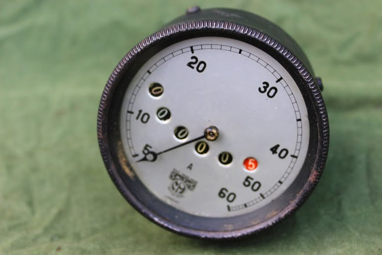 SMITHS 1920's 60 mijlen teller 60 Mph speedometer tacho
