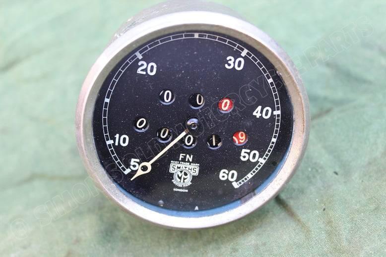 SMITHS FN 60 MLS mijlenteller speedometer tachometer 1930 's