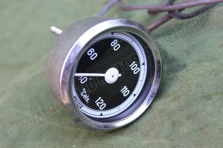 VDO 120 graden temperatuur meter temperature gauge 1973