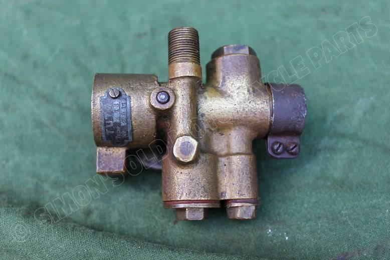 TUTO typ 718 bronzen carburateur vergaser carburettor 1920's