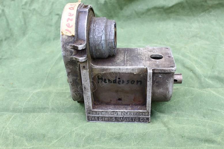 SIMMS type C4 USA magneto parts ontstekings magneet onderdelen zundmagnet teile Henderson ?