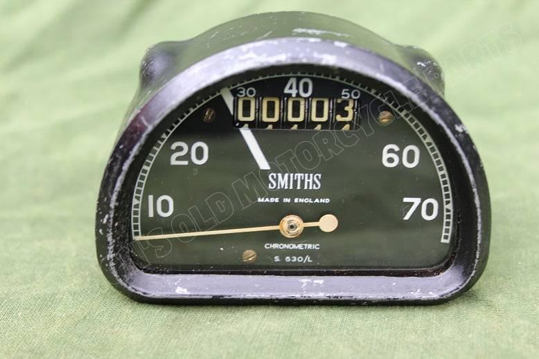 SMITHS S630/L D type chronometric 70 mijlen teller tacho speedometer