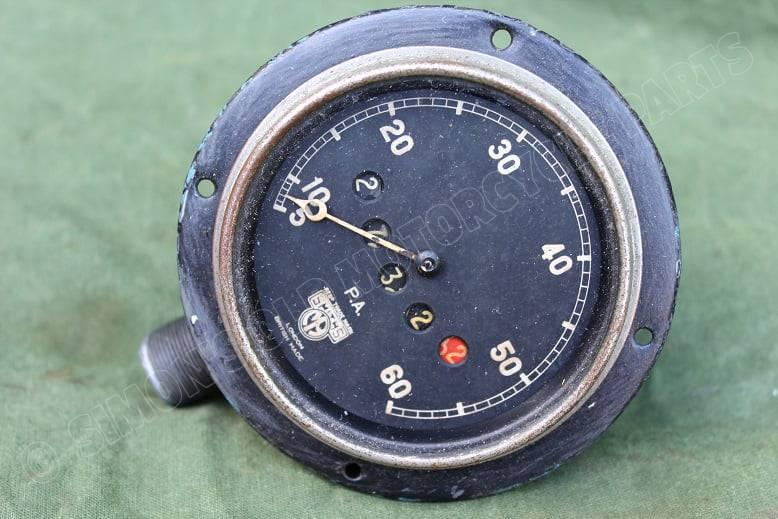 SMITHS PA 1930's 60 miles angled speedometer haakse mijlenteller tacho