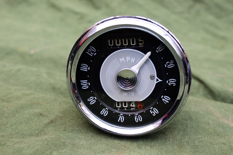 SMITHS SC3312/00 120 Mph chronometric speedometer mijlenteller tacho