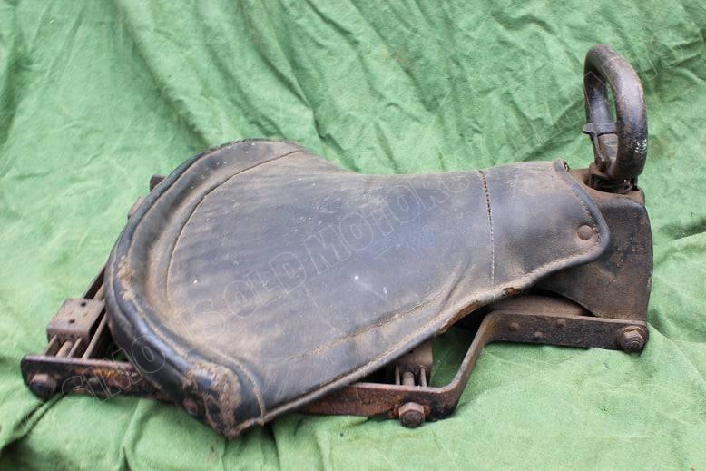 WITTKOP 1930's motorfietsduo zadel motorrad beifahrer sattel motorcycle passenger seat