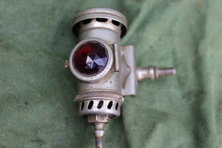 JOSEPH LUCAS No. B116 carbid achterlicht acetylene rearlamp karbid rucklicht  1929