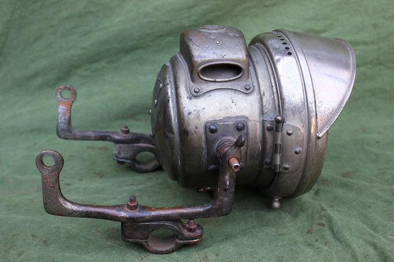 JOSEPH LUCAS No. 462 1916 carbidlamp acetylene motorcycle lamp karbidlampe motorrad