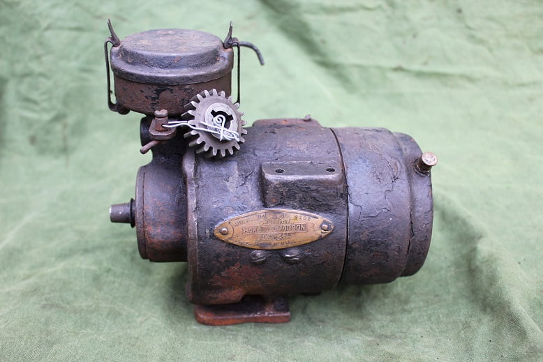 HARLEY DAVIDSON model D-1 1920's dynamo lichtmachine generator J JD etc.