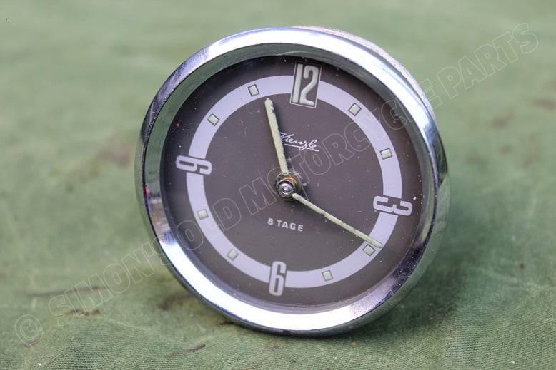 KIENZLE 8 TAGE auto klokje PKW Uhr car clock 1950's VW ?? OPEL ??