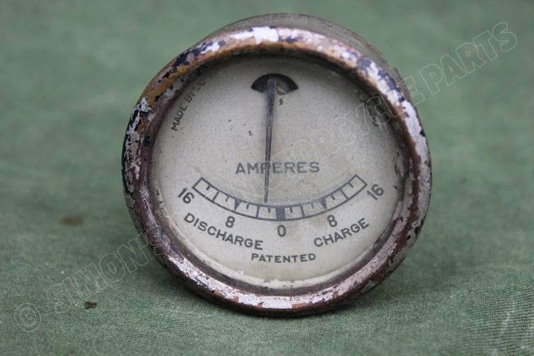 JOSEPH LUCAS type BMI 16 – 16 ampere meter ammeter ampermeter BM I