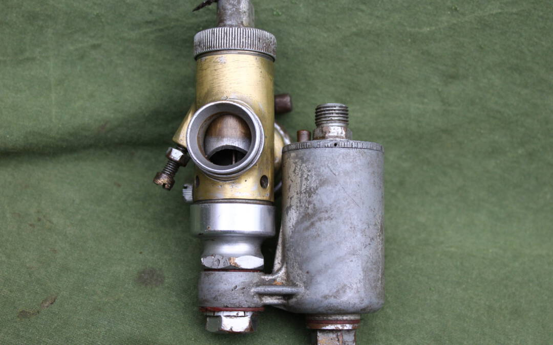 AMAL 4/135 bronzen carburateur bronze carburettor vergaser 1930's
