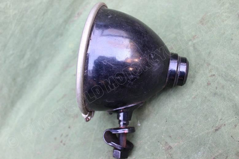 1920's / 1930's motorfiets koplamp motorcycle headlamp motorrad scheinwerfer