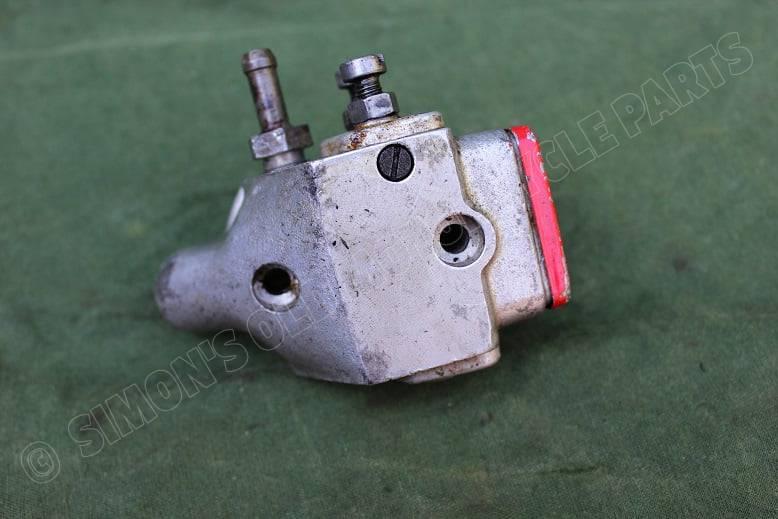 JAP ?? SCOTT ?? 1920's / 1930's motorcycle double action oil pump motorfiets olie pomp J.A. Preston ?
