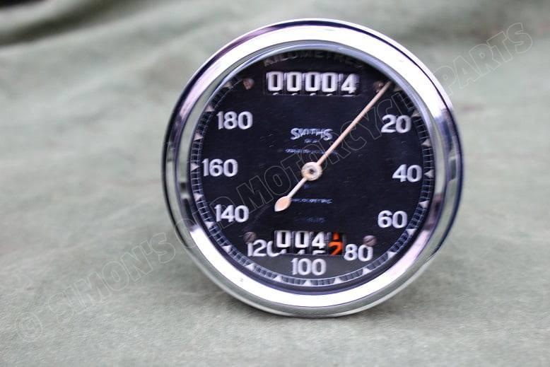 SMITHS S608/15 180 KM chronometric kilometerteller speedometer tacho BSA ?