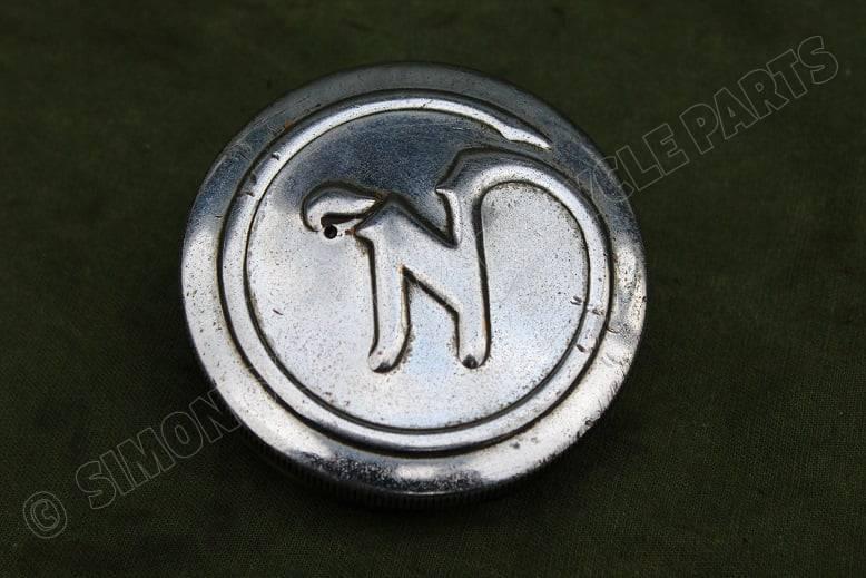 NORTON bronzen benzine dop petrol cap benzin