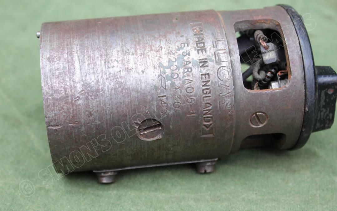 LUCAS E3 AR AO5-1 1945 dynamo huis generator body lichtmachine gehause WD WOII